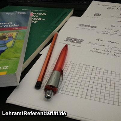 Unterrichtsvorbereitung-Grundschule-Referendariat