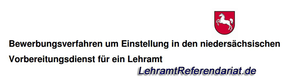 referendariat niedersachsen lehramtsreferendariat blog - Bewerbung Referendariat Niedersachsen